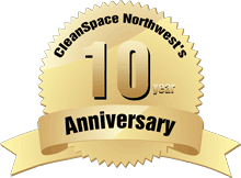Celebrating CleanSpace Northwest's 10 year Anniversary